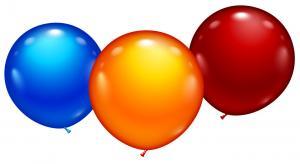 3 Maxi Balloons