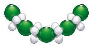 1 Ballon-Set grün-weiß