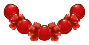 1 Ballon-Set Love - Sonderpreis -