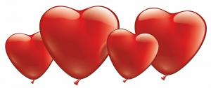 10 Herzballons
