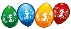 """8 Balloons """"1"""""""