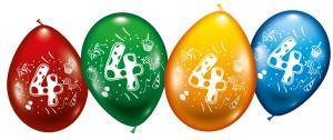 "8 Ballons ""4"""