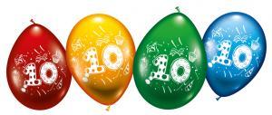 """8 Balloons """"10"""""""