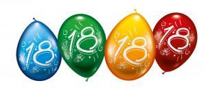 "8 Ballons ""18"""