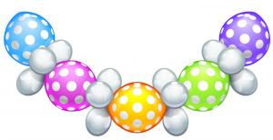 "1 Ballon-Set ""Polka Dots"""