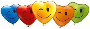 """5 Herzballons """"Blinky"""""""