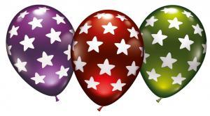6 Ballons Sterne