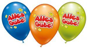6 Ballons Alles Gute - Sonderpreis -