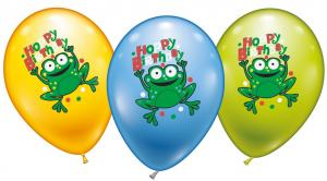 6 Balloons Hoppy Birthday