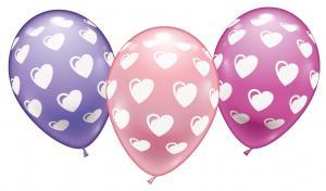 6 Balloons Sweethearts