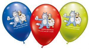 6 Balloons Birthday Selfie