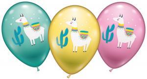 "6 Ballons ""Lama"""