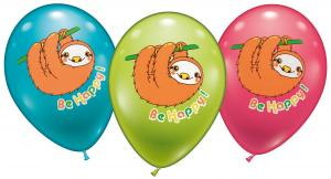 "15 Balloons ""Sloth Be happy"""