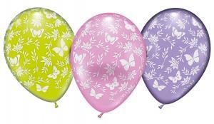 6 Ballons Schmetterlinge/ Balloons Butterflies