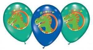 6 Ballons Dinosaurier/ Balloons Dinosaurs