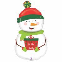 """Holiday Snowmann 40"""""""