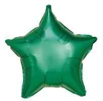 10 Folienballon Stern grün