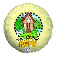 1 Folienballon Welcome Home