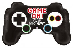 1 Folienballon Game Controller Birthday