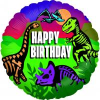1 Foil Balloon Jurassic Birthday