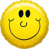 1 Folienballon Smile Face