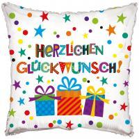 """1 Folienballon """"Herzlichen Glückwünsch"""" Geschenke"""