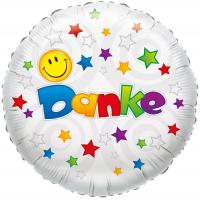 "1 Folienballon ""Danke"" Smile"