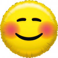 1 Folienballon What`s Smile Glow