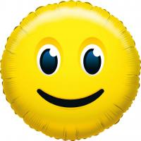 1 Folienballon What`s Smile Fun