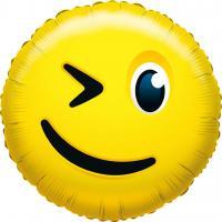1 Folienballon What`s Smile Blinky