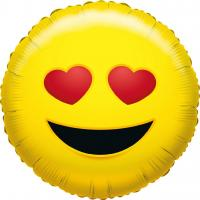 1 Folienballon What`s Smile Love