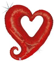 1 Folienballon Linky Heart