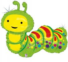 1 Foil Balloon Caterpillar