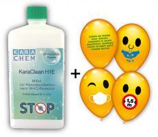 20 Flaschen Handdesinfektionsmittel 500 ml