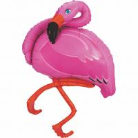1 Foil Balloon Flamingo