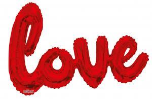Riesenschriftzug LOVE rot Jumbo -Heliumquality - Special price