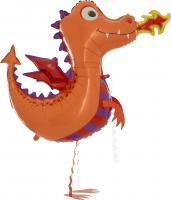 1 Walker Ballon Drache 104 cm/Walker Balloon Dragon 41 inch