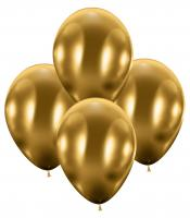 50 Balloons glossy gold