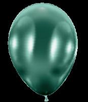 50 Ballons / Balloons glossy grün / green