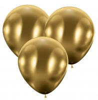 25 Riesenballons/ Giant Balloons glossy gold