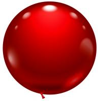 1 Balloon red