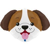 1 Folienballon Hund 84 cm/ 33 inch