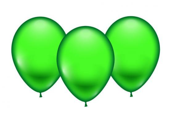 8 Balloons green