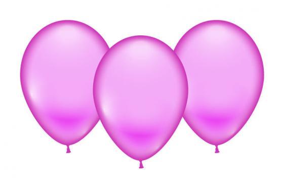 8 Balloons pink