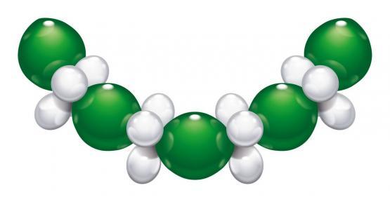 1 Ballon-Set grün-weiß - Sonderpreis