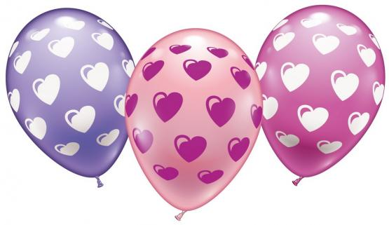 15 Ballons Sweethearts - Online Edition