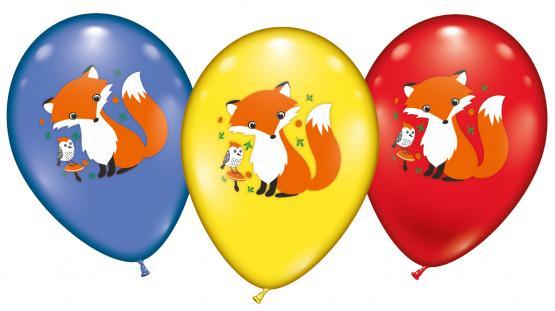 6 Ballons / Balloons Foxi