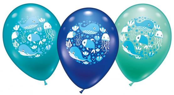 "6 Ballons ""Sea World"""