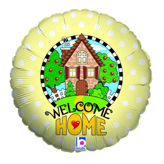 1 Foil Balloon Welcome Home