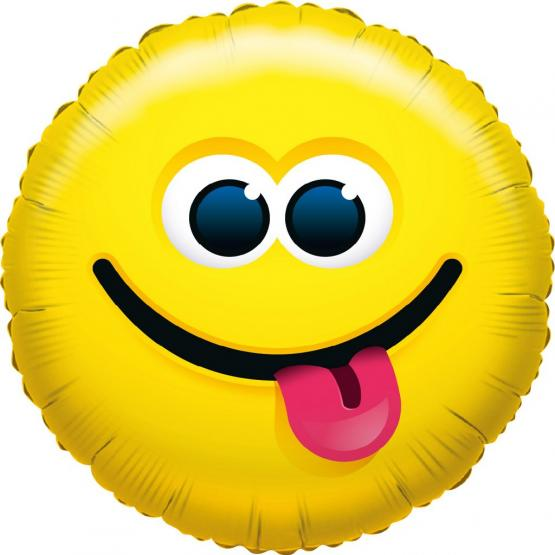 1 Foil Balloon What`s Smile Cool